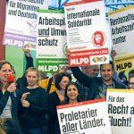 MLPD Lübeck: Gemeinsam gegen jeden Imperialismus!