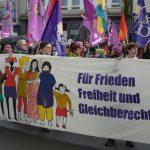 Frauenverband Courage Lübeck zum Ostermarsch 2020